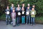 Die Preisträger des Känguru-Wettbewerbs 2015 (Foto: C. Scholz/SMMP)