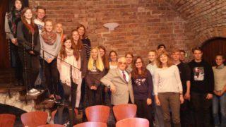 Gruppenbild mit Herrn Tendera (Foto: Lause/SMMP)