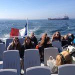 Bootsfahrt vor Saint Malo (Foto: Lügger/SMMP)