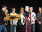 Die SV verabschiedet Frau Eggers. (Foto: C. Scholz/SMMP)
