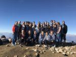 """Die """"27 Aufrechten"""" am Gipfel des Monte Baldo (Foto: Köster/SMMP)"""