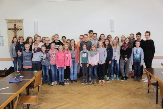 """Die Teilnehmer der SV Aktion """"Eyesbreaker - Augen auf füreinander"""" (Foto: C. Scholz/SMMP)"""